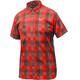 Salewa Puez Ecoya Dry Camicia a maniche corte Uomo grigio/rosso